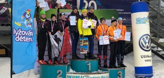 Štafetové zlato z MČR žáků 2020 putuje do SK NMNM
